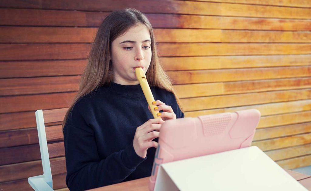Online flute classes