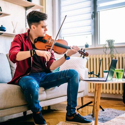 Online violin classes